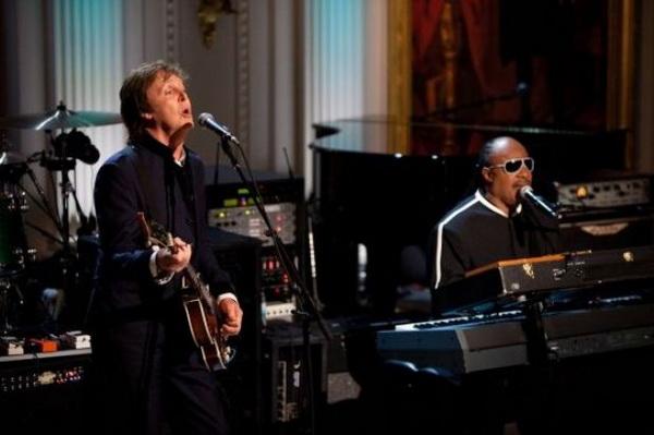 slika123 Ponovni susret velikana: Paul McCartney i Stevie Wonder stvaraju čaroliju