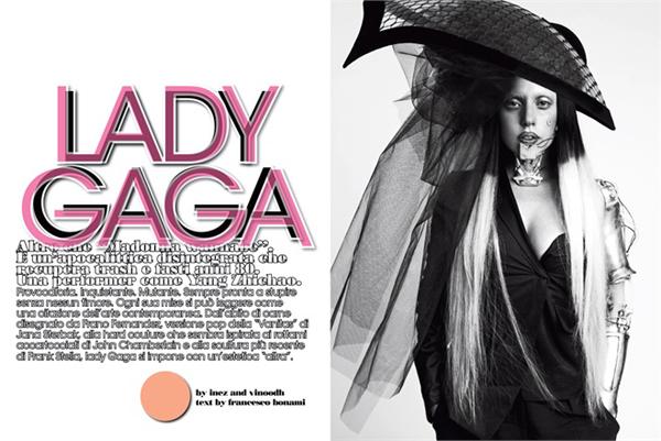 udni modni dodaci koje jedino ona uspe no nosi. LUomo Vogue: Lady Gaga na muški način
