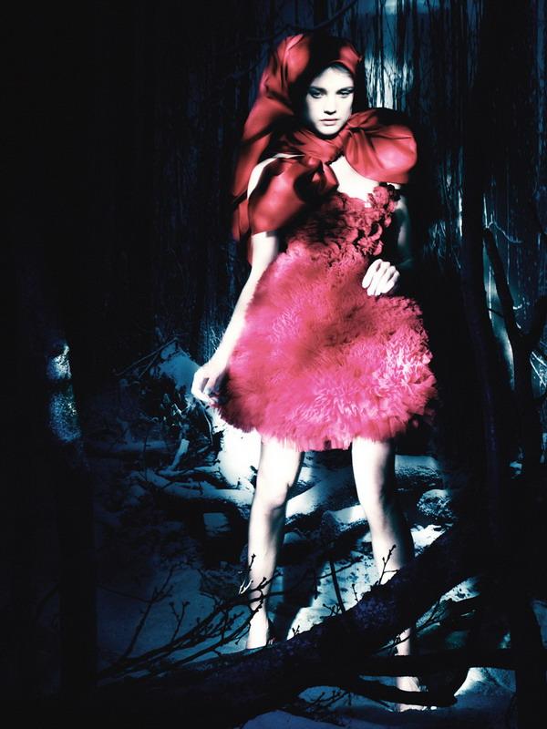 vodianova La Moda Italiana: Moda za crveni tepih