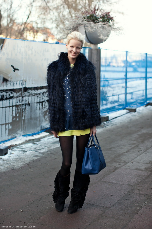 103 Stockholm Street Style: Krzno vlada