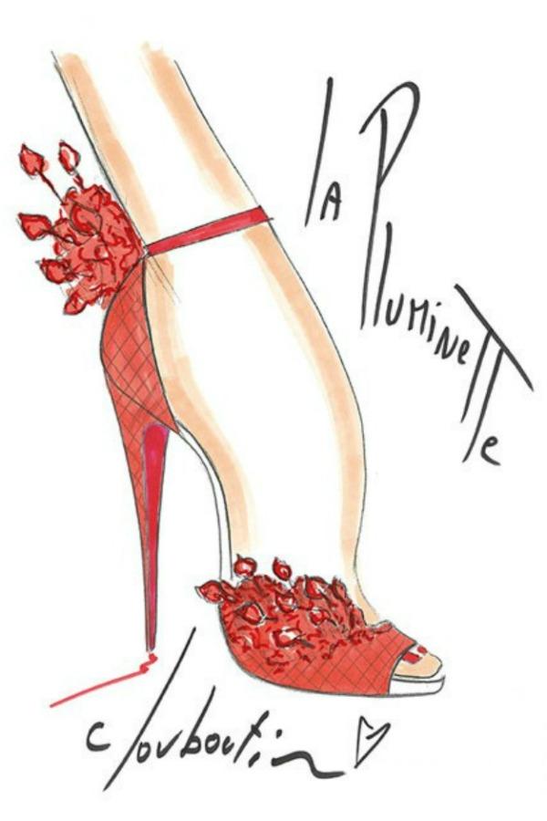11116 00005a1b9 1768 orh100000w427 Christian Louboutin sketches garticle 8 Modni zalogaji: Još jedan supermodel u toplesu