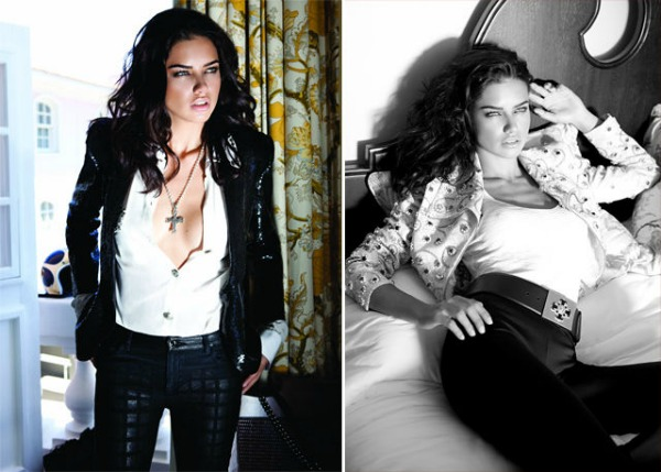"79 ""Vogue Brasil"": Adriana Lima okupana suncem"