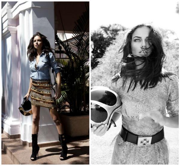 "87 ""Vogue Brasil"": Adriana Lima okupana suncem"