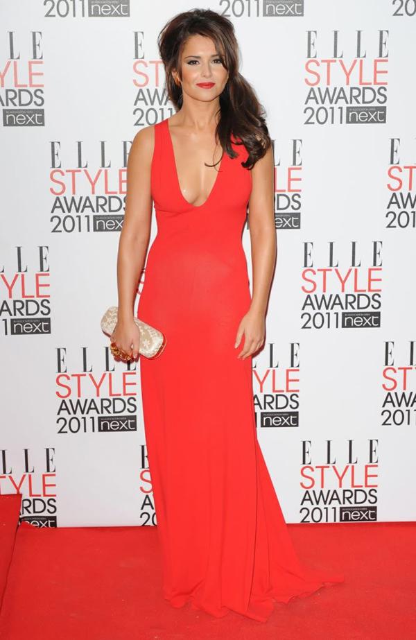Alexander McQueen Lace Knuckle Box Clutch i haljina 10 odevnih kombinacija: Cheryl Cole