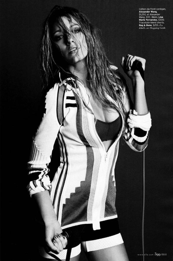 Blake Lively Elle US 6 Elle US: Vatrena Blake Lively