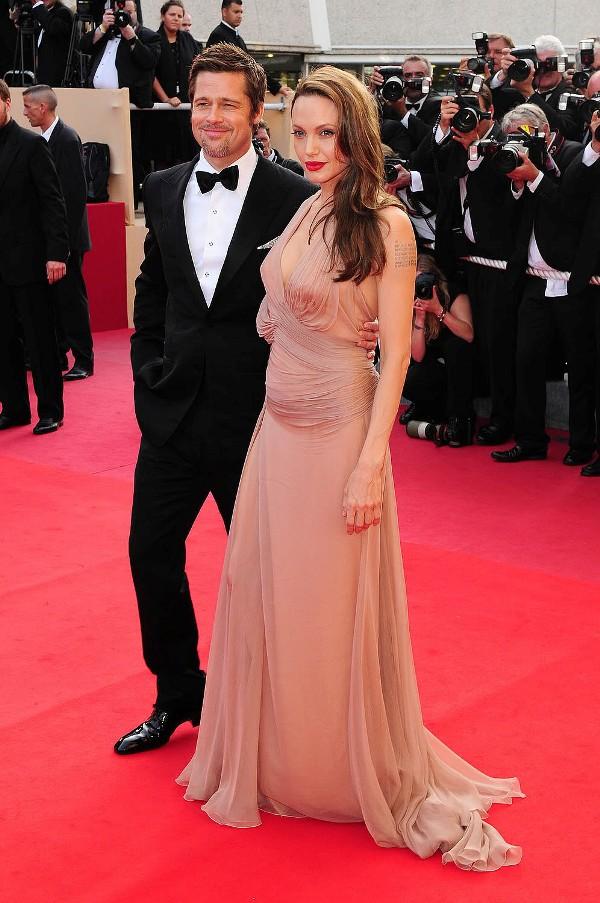 Brad Pitt and Angelina Jolie 1 Najseksepilniji parovi