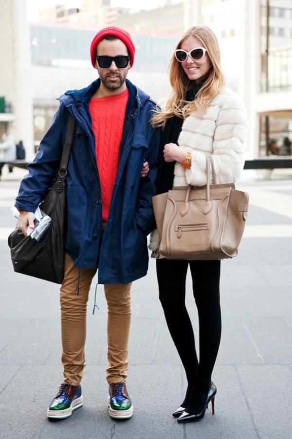 Chiara and Angelo GL 13feb12 CL b Street Style: Njujorška nedelja mode
