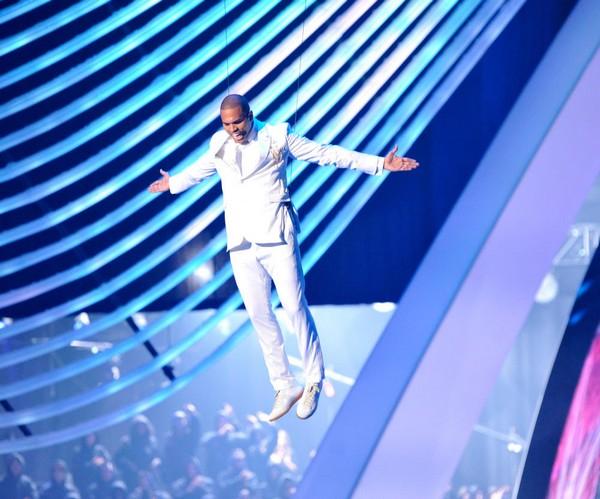 Chris Brown slika Od kako sa RiRi ponovo šeta, Chris Brown naprosto cveta