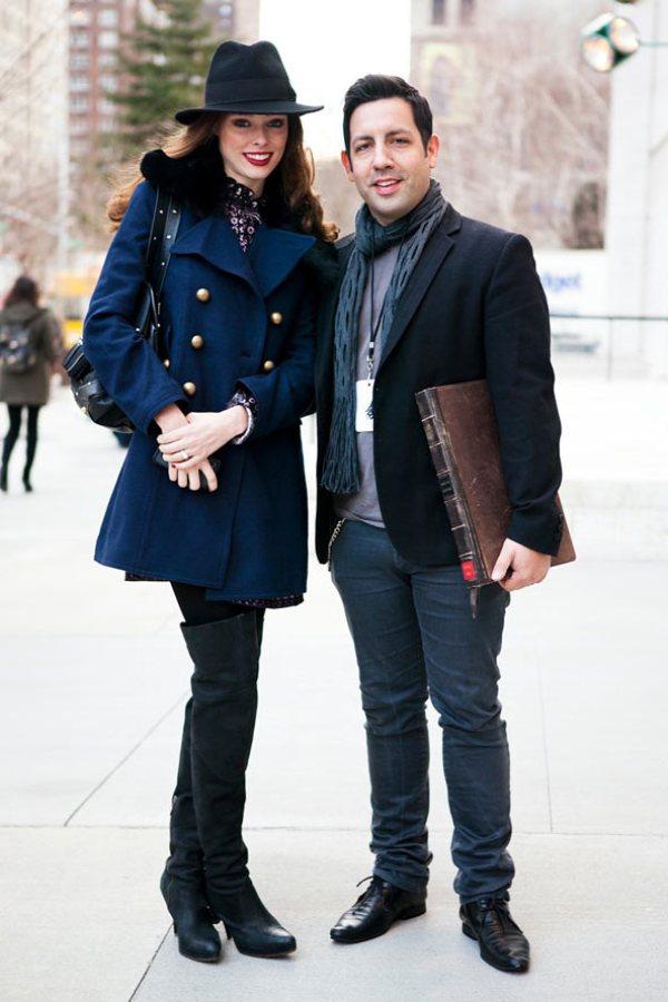 Coco and James GL 13feb12 CL b Street Style: Njujorška nedelja mode