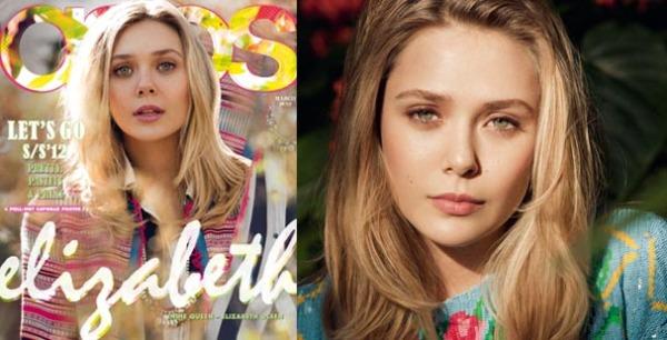 """Elizabeth Olsen for Asos  Modni zalogaji: Zavodljiva Charlize za """"Vanity Fair"""""""