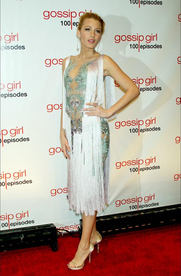 Gossip Girl 100 Episode Celebration 10 odevnih kombinacija: Blake Lively