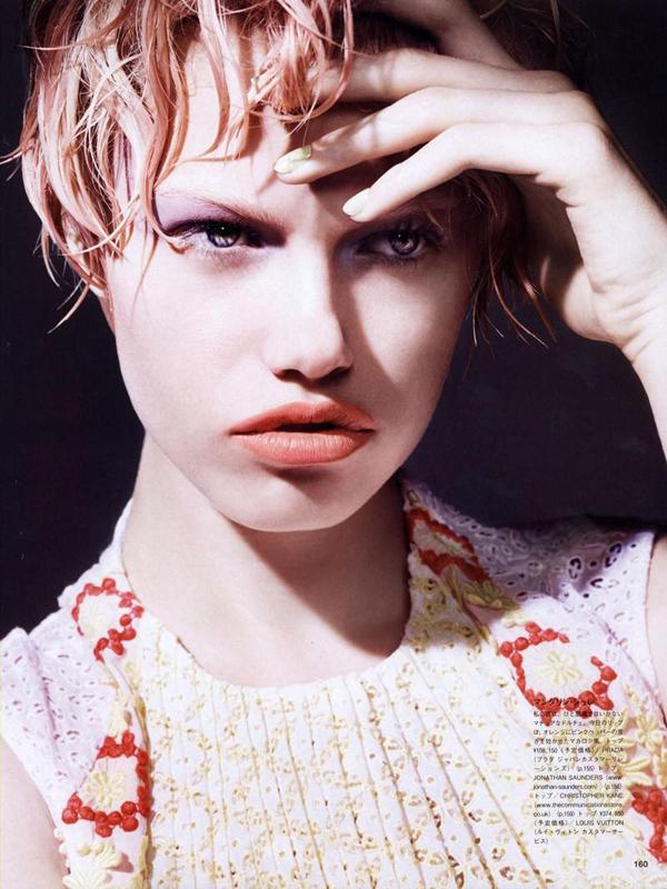 Hailey Clauson Liz Collins Vogue Nippon 03 Vogue Nippon: Kad lepota zaledi