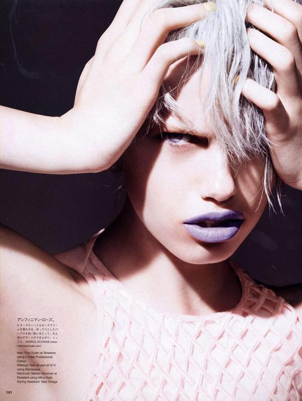 Hailey Clauson Liz Collins Vogue Nippon 05 Vogue Nippon: Kad lepota zaledi