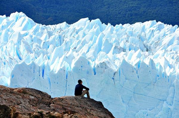 Januarska fotografija sa Argentinskog glecera Perito Moreno Wannabe intervju: Marina Di Guardo