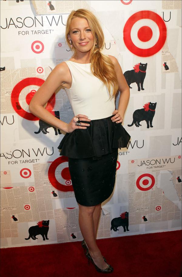 Jason Wu For Target New York Launch 10 odevnih kombinacija: Blake Lively