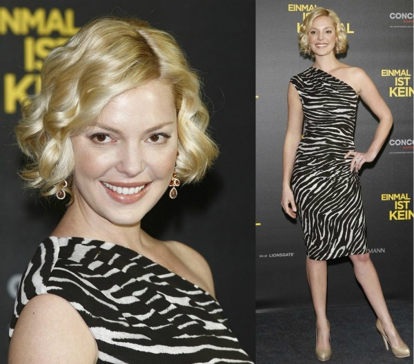 Katherine Heigl In Michael Kors One for the Money Berline Photocall1 Fashion Police: Rooney Mara vs. Beyoncé
