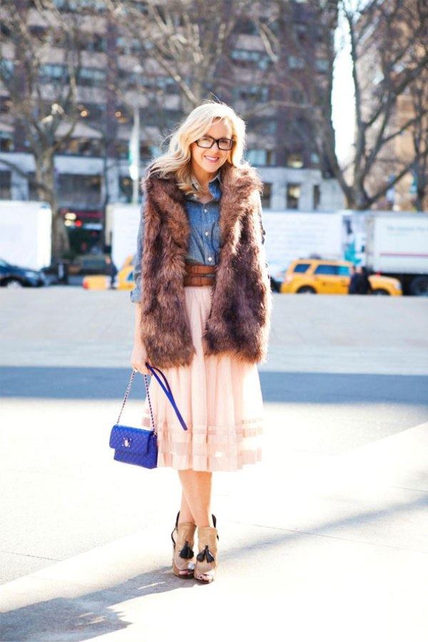 Mejgan StreetStyle CLake GL Street Style: Njujorška nedelja mode