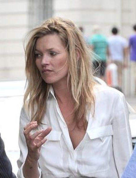 Street Style: Kate Moss