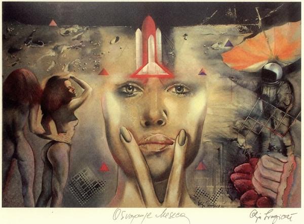 Olja Ivanjicki 1 Umetnost koju ne briše vreme: Olja Ivanjicki