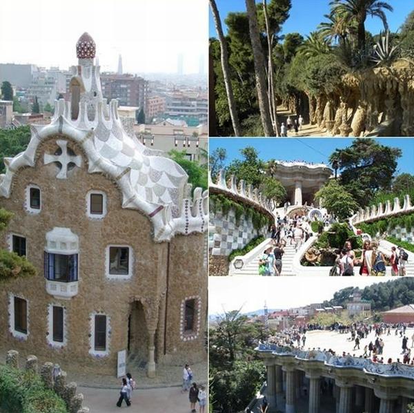 Park3 Antonio Gaudi: Parc Güell