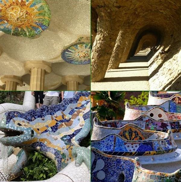 Park4 Antonio Gaudi: Parc Güell