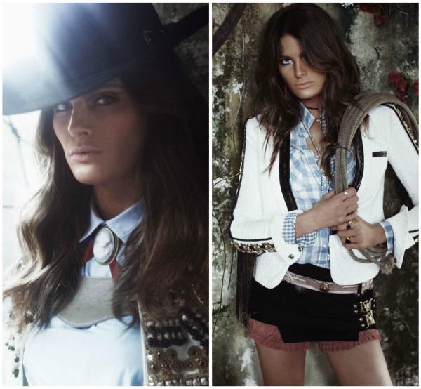 """Picnik collage1 """"Vogue Spain"""": Pištolji i šeširi"""