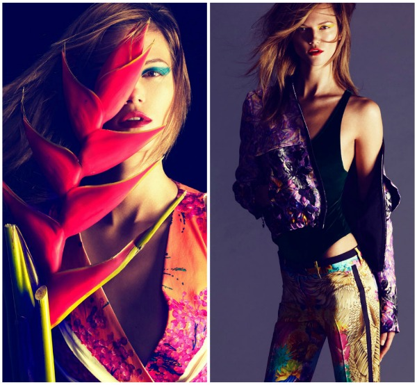 "Picnik collage22 ""Hapers Bazaar Spain"": Sanjivi portreti"