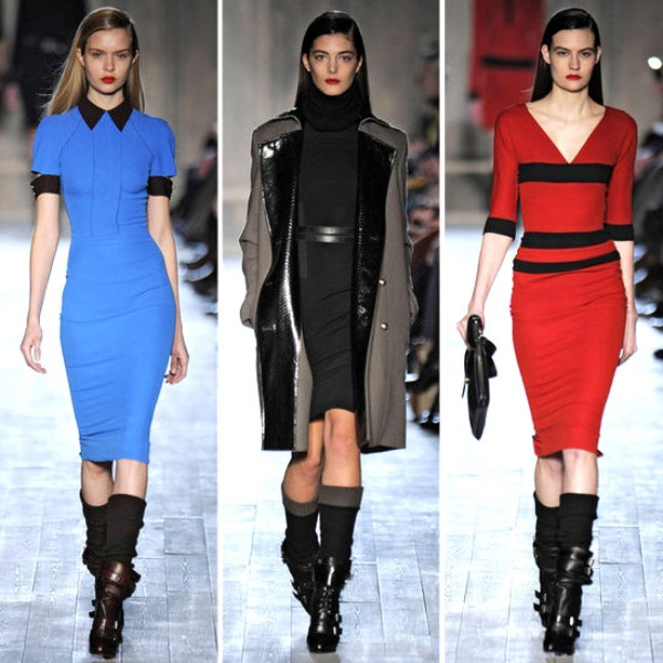 Review Pictures Victoria Beckham Collection 2012 Fall New York Fashion Week Runway Show Modni zalogaji: Vesele devedesete ponovo kucaju na vrata mode