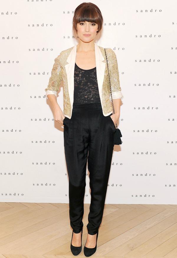 Rose Byrne in Sandro Fashion Police: Rooney Mara vs. Beyoncé