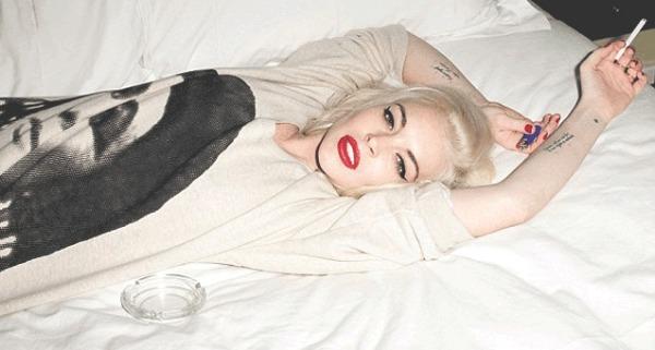 SA Lindsay Lohan Love Magazine Sickest Addictions Sick Addicts 2012 1 Modni zalogaji: H&M Fashion Against AIDS