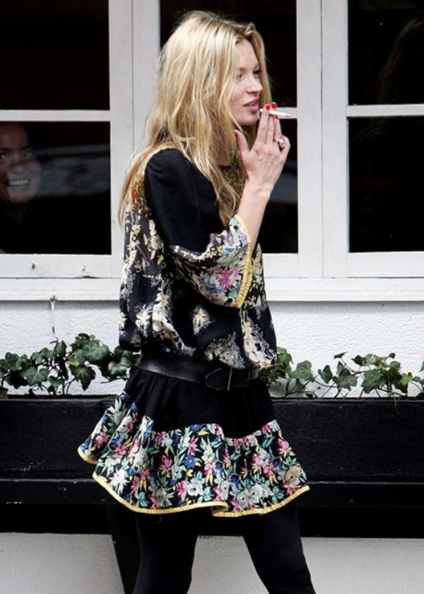Slika 10 Street Style: Kate Moss