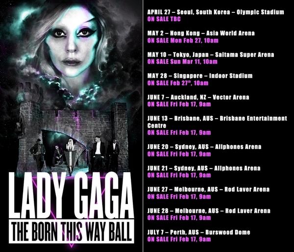 Slika 18 Lady Gaga kreće na turneju