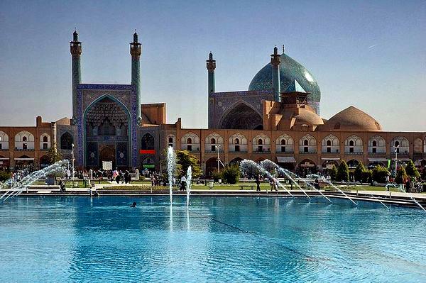 Slika 215 Trk na trg: میدان نقش جهان, Isfahan