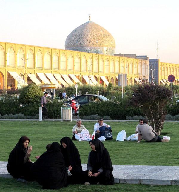 Slika 56 Trk na trg: میدان نقش جهان, Isfahan