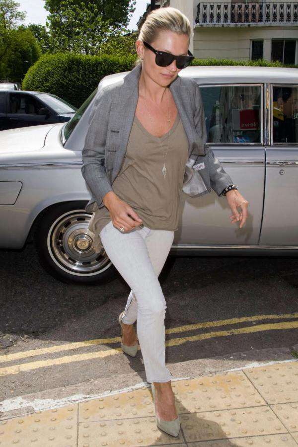 Slika 9 Street Style: Kate Moss