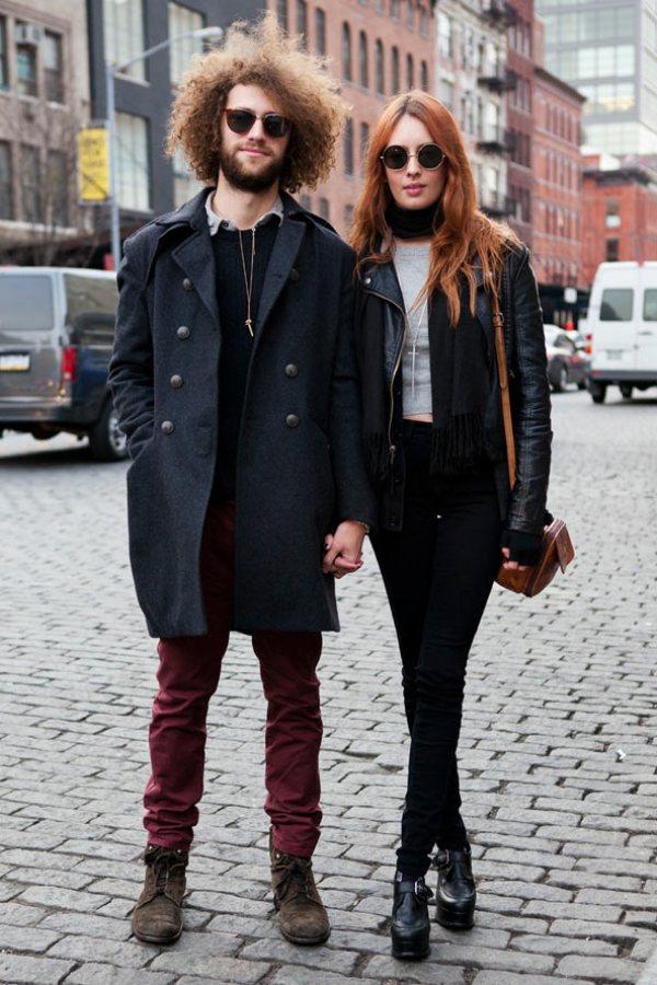 Sophia and Ryan GL 13feb12 CL b Street Style: Njujorška nedelja mode