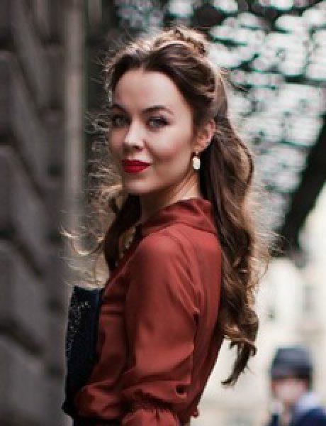 Street Style: Ulyana Sergeenko