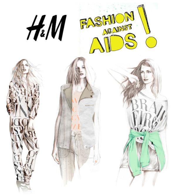 StyleLab HM FashionAgainstAids Modni zalogaji: H&M Fashion Against AIDS