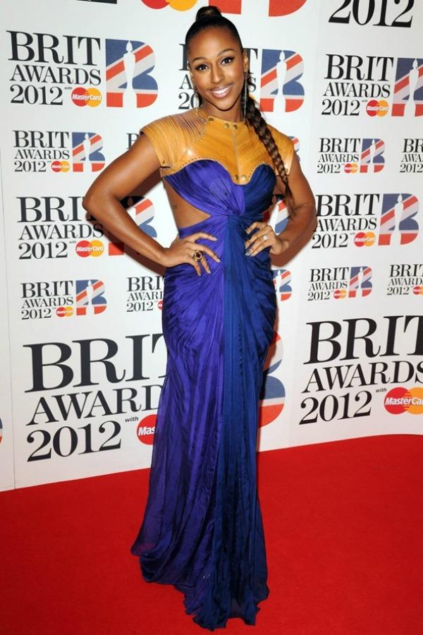 alexandra burke Alpana Neeraj Crveni tepih dodele nagrada BRIT 2012