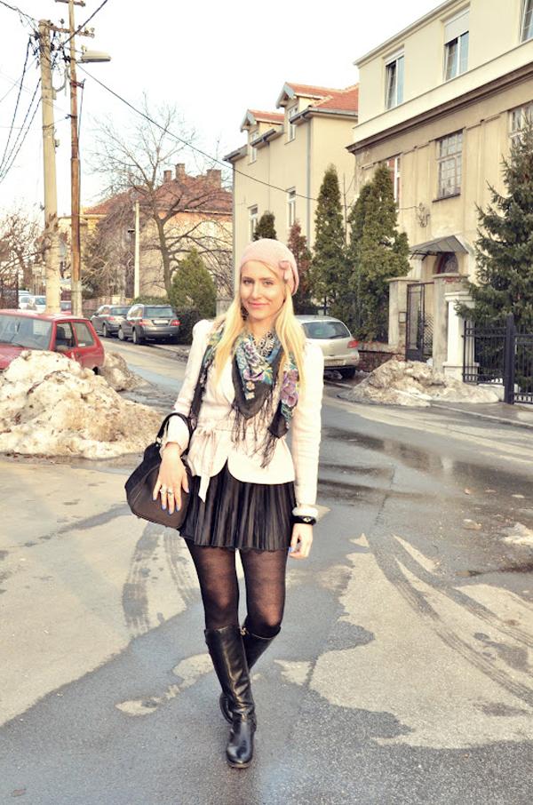 anastasija 1 Modne blogerke: Februarska idila