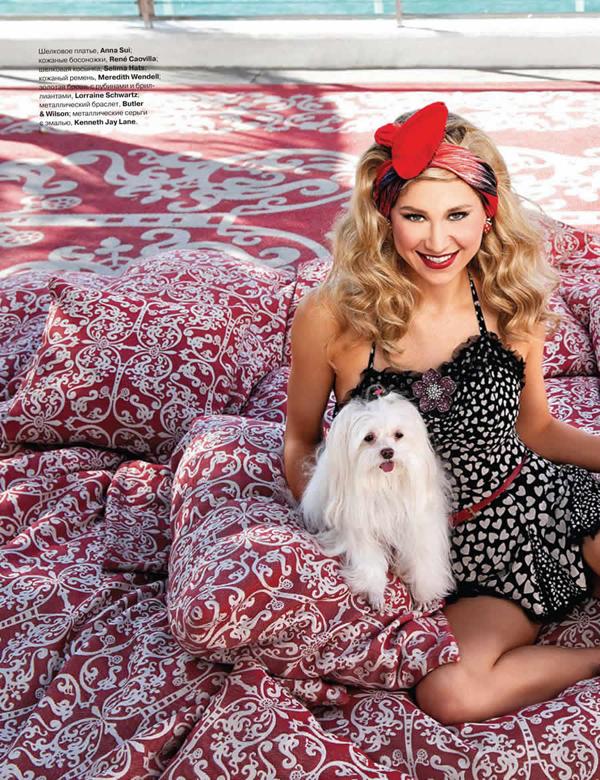 anna tatler 1 Tatler Russia: Anna Kournikova i dodir leta