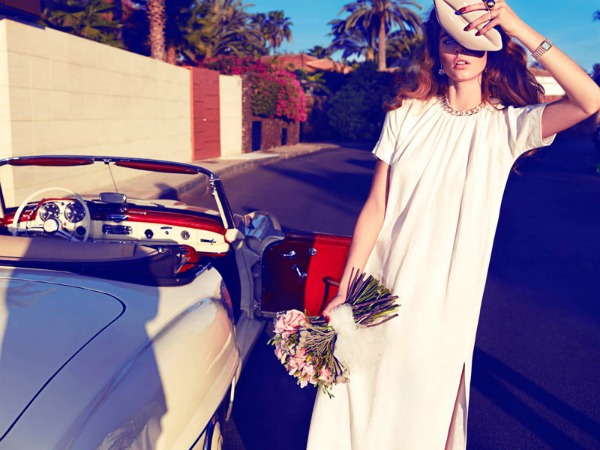 beegee margenyte3 Vogue Spain: Upravo venčana