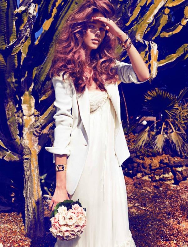 beegee margenyte4 picnik Vogue Spain: Upravo venčana