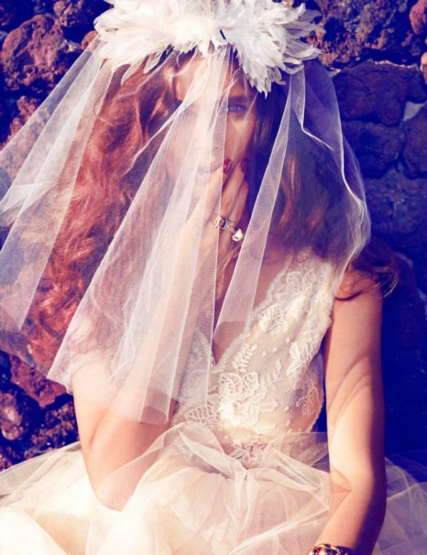 beegee margenyte5 Vogue Spain: Upravo venčana