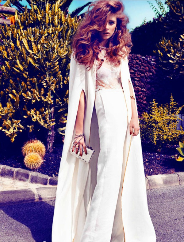 beegee margenyte6 Vogue Spain: Upravo venčana