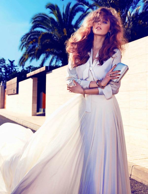 beegee margenyte7 Vogue Spain: Upravo venčana