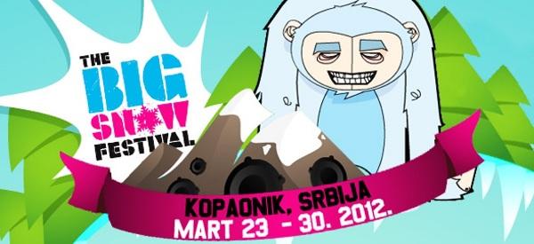 bigsnowtekst Festival Big Snow   prolećni Exit