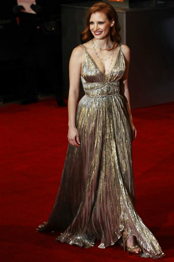 chastain Fashion Police: Dodela nagrada BAFTA 2012.