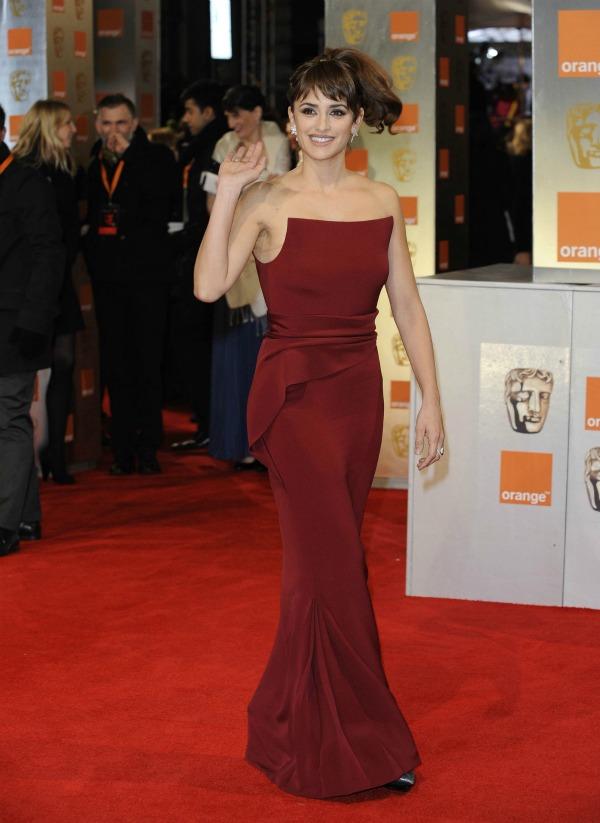 cruz Fashion Police: Dodela nagrada BAFTA 2012.