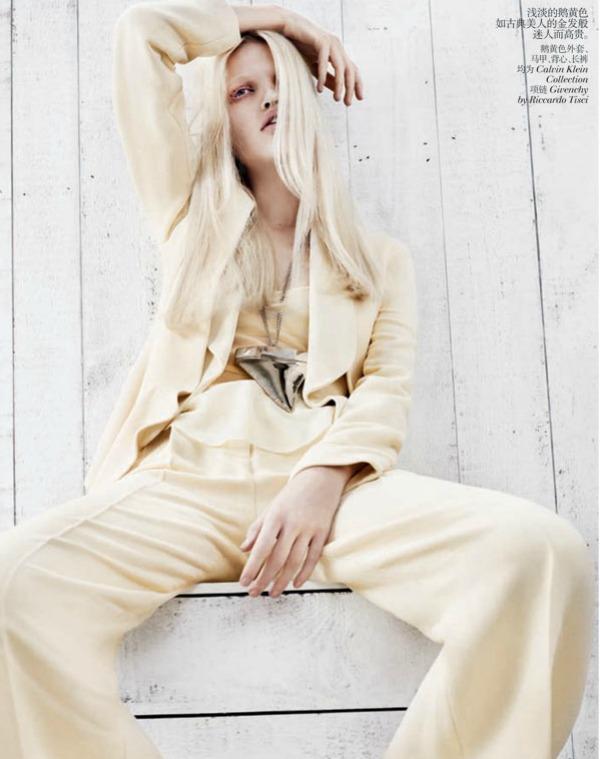 daphne groeneveld2 Vogue China: Prolećni povetarac